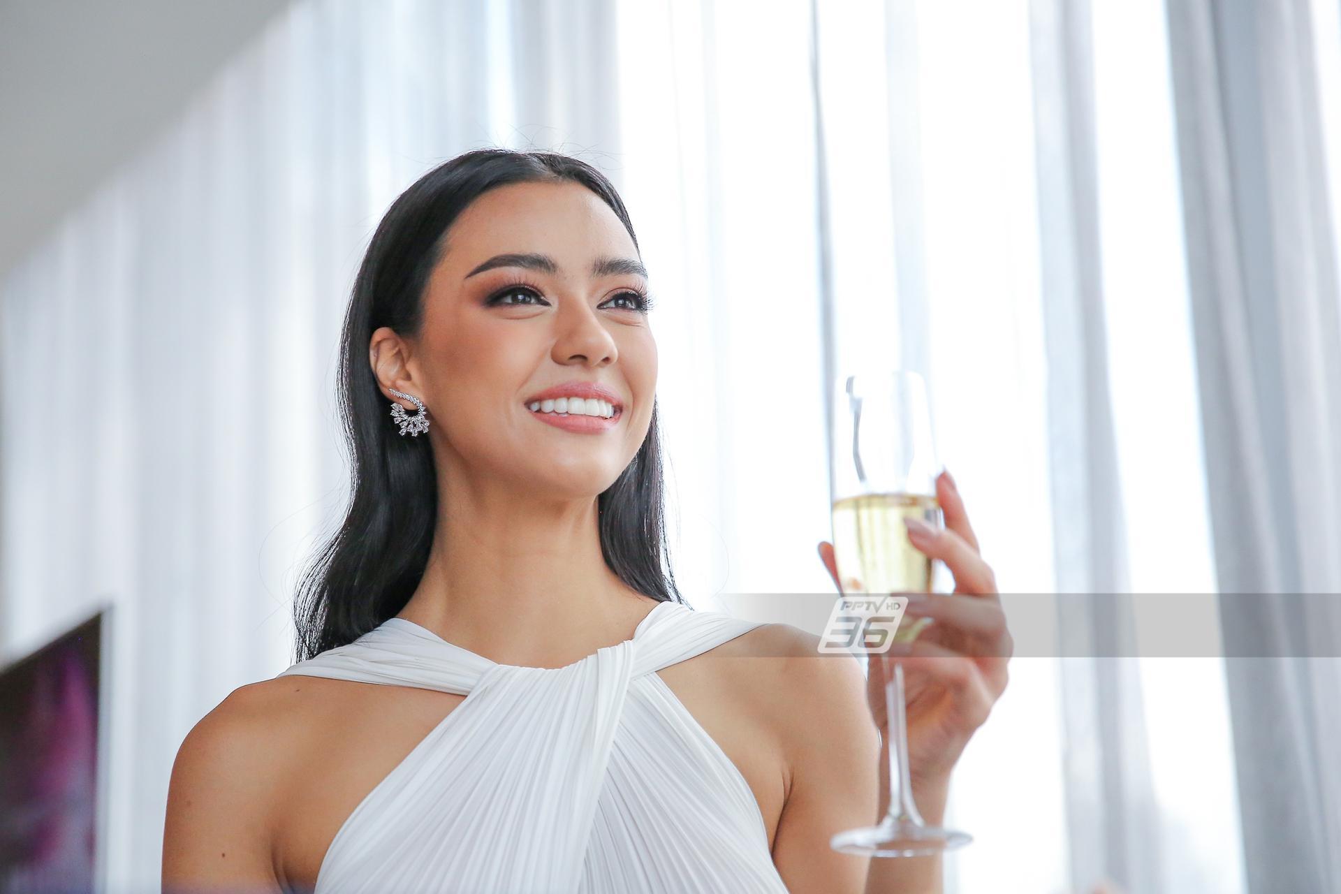 เช้าวันแรกในตำแหน่ง Miss Universe Thailand 2020