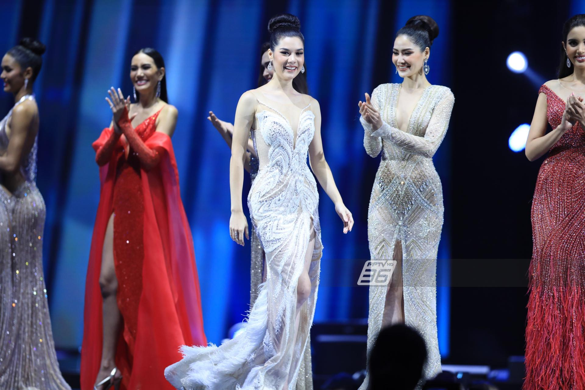 ประชันชุดราตรี บนเวที Miss Universe Thailand 2020 รอบตัดสิน