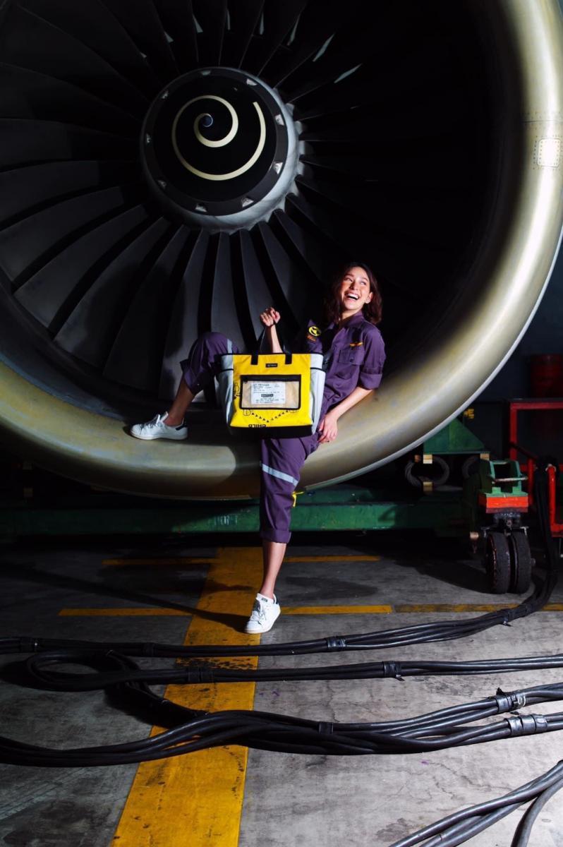 """รักษ์โลก-เพิ่มรายได้ """"การบินไทย"""" เปิดจองกระเป๋าดัดแปลงจากเสื้อชูชีพ-เรือแพ"""