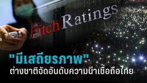 คะแนนความน่าเชื่อถือไทยยังอยู่ใน ระดับมีเสถียรภาพ (Stable Outlook)