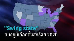 เปิดสมรภูมิเลือกตั้งสหรัฐฯ Swing state ปี 2020