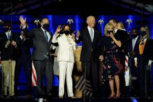 """ผู้นำโลก แห่ยินดี """"ไบเดน – แฮร์ริส"""" คว้าชัยเลือกตั้ง ปธน.สหรัฐฯ"""