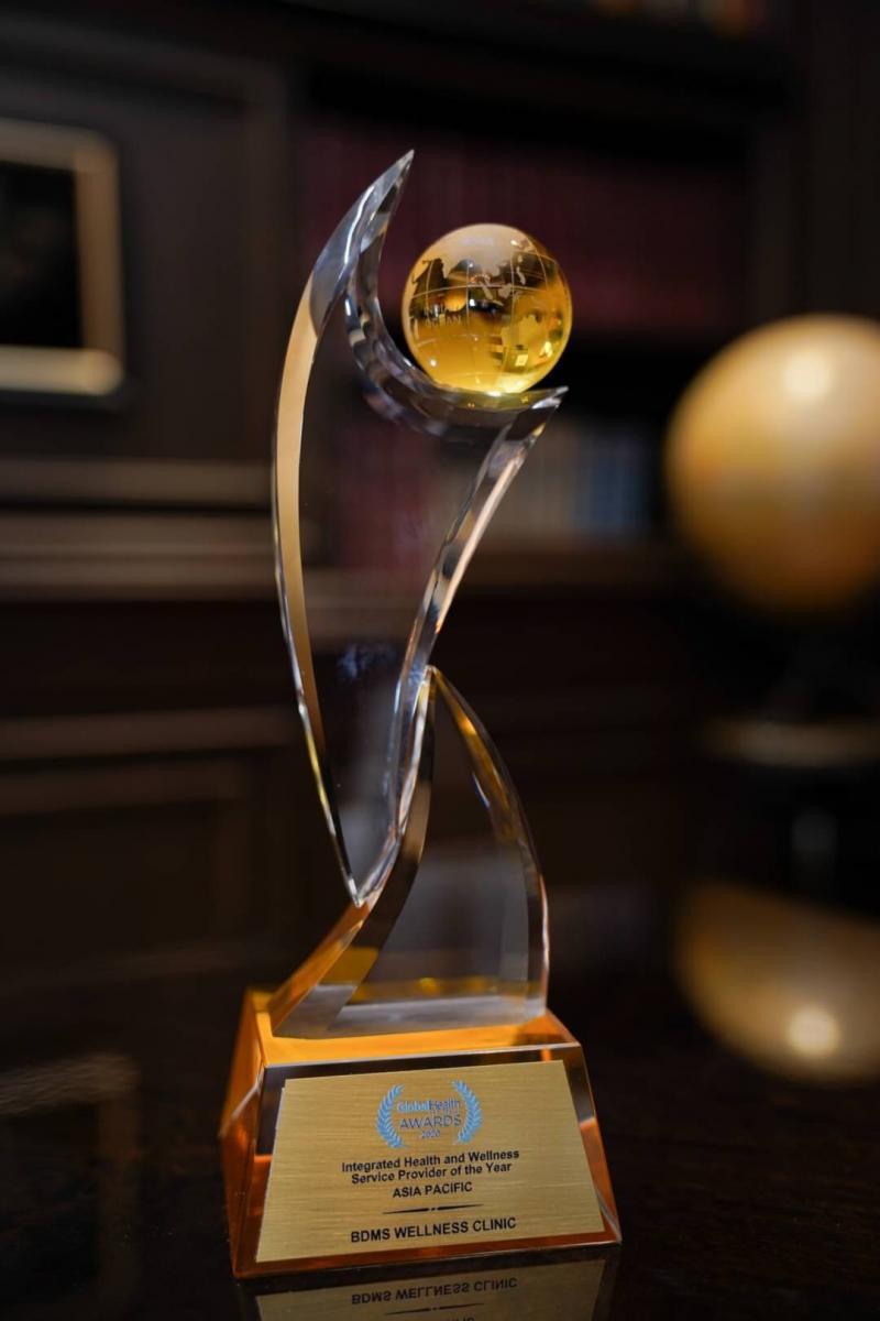 บีดีเอ็มเอส เวลเนส คลินิก ได้รับรางวัล Integrated Health and Wellness Provider of the Year Asia-Pacific 2020