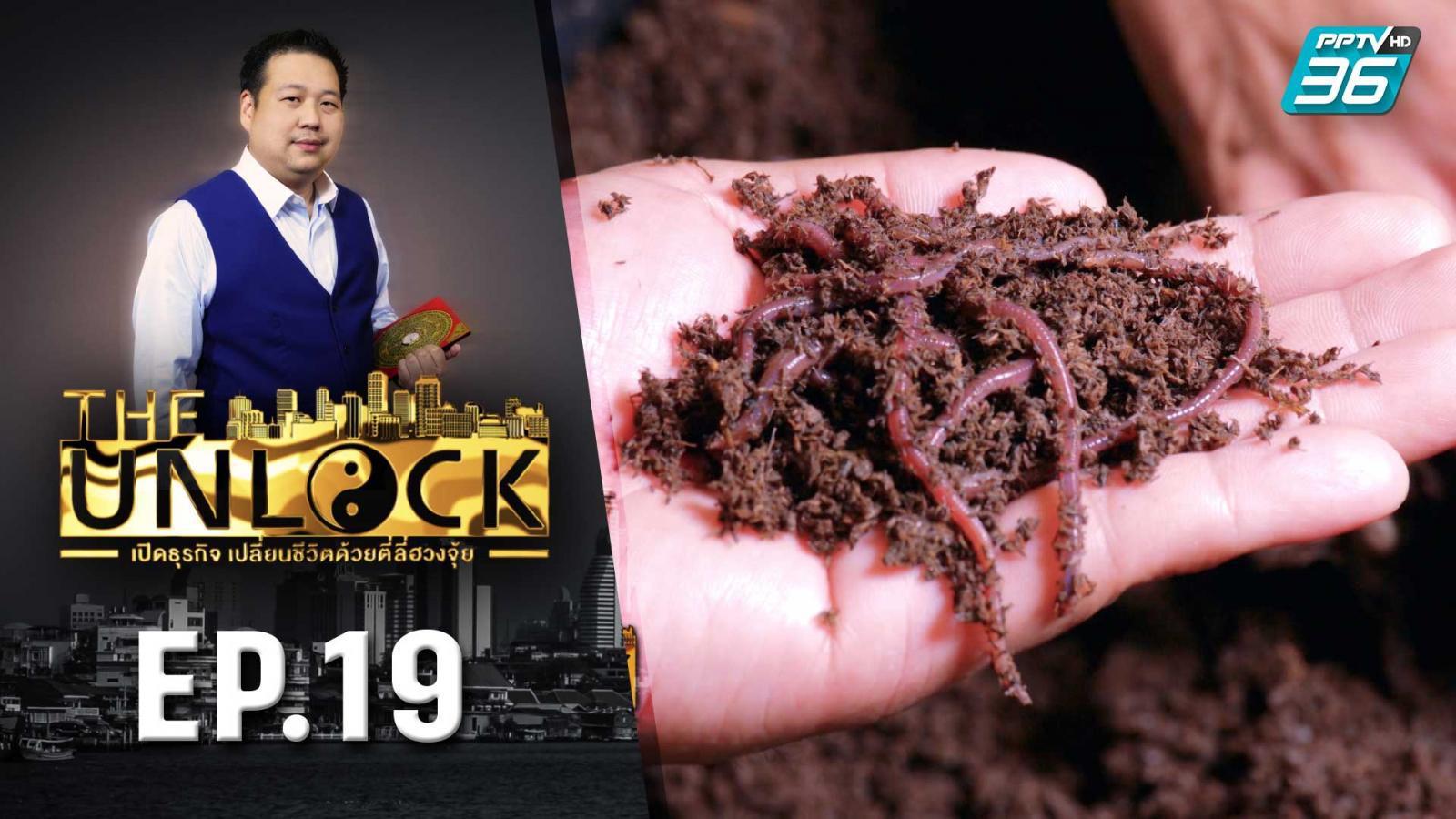 The Unlock เปิดธุรกิจ เปลี่ยนชีวิตด้วยตี่ลี่ฮวงจุ้ย | ฟาร์มไส้เดือน EP.19 | PPTVHD 36