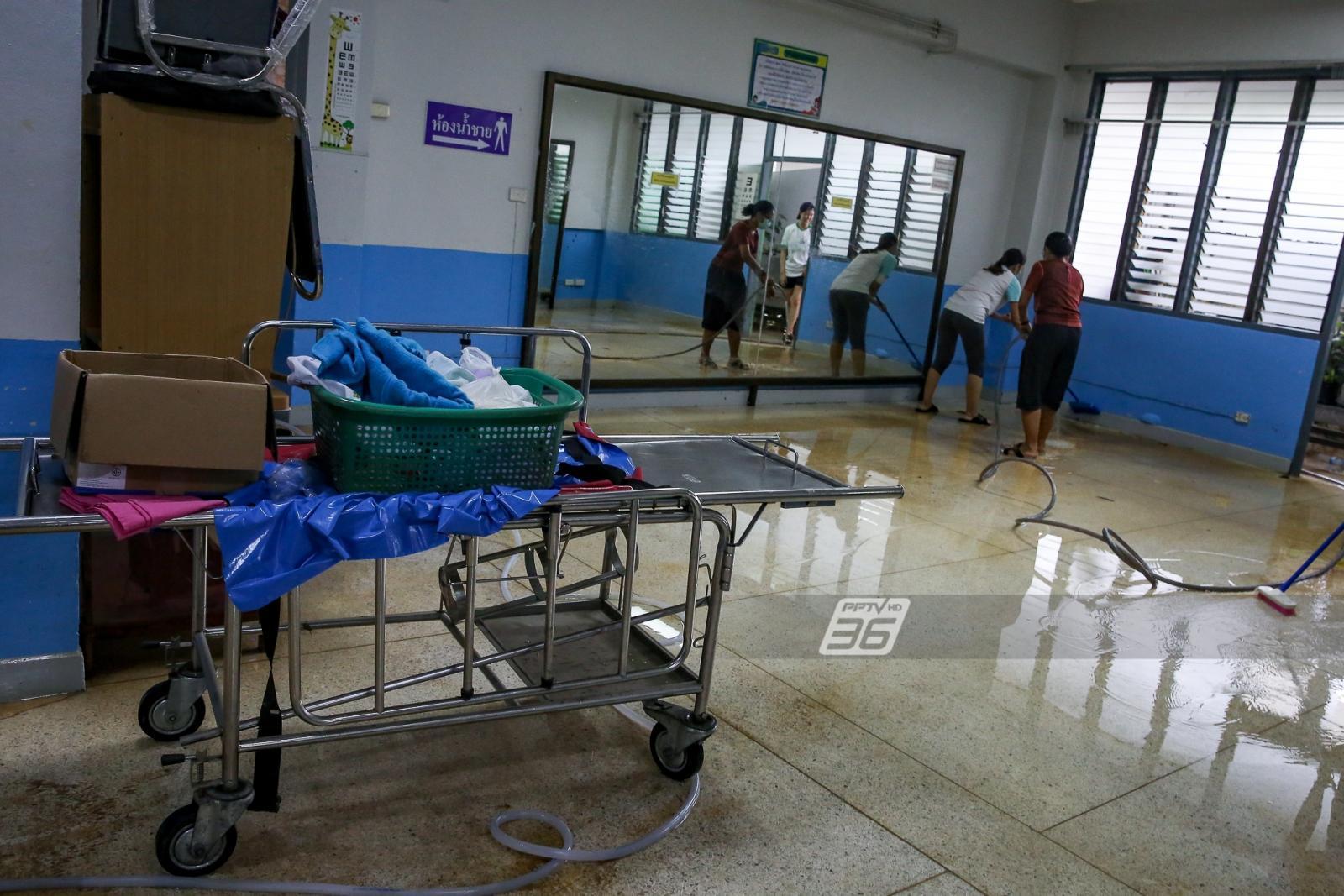 ซ้ำแผลเก่า! น้ำล้อมสนามบินเมืองคอน ท่วมหนักเหมือนปี 54