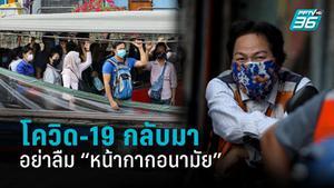 วิธีใส่หน้ากากอนามัยที่ถูกต้อง เมื่อโควิด-19 กลับมาเยือนไทยอีกครั้ง