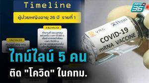 โฆษกกทม.เปิดไทม์ไลน์ 5 คนติดโควิดในกทม.ขึ้นBTS - MRT สันนิษฐาน 3 สาเหตุ