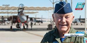 """อาลัย""""ชัค เยเกอร์""""นักบินผู้พิชิตกำแพงเสียง เสียชีวิตวัย 97 ปี"""