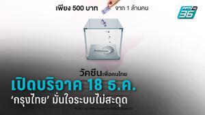 """""""กรุงไทย"""" หนุน """"วัคซีนเพื่อคนไทย"""" เปิดแพลตฟอร์มรับบริจาค 18 ธ.ค. มั่นใจระบบไม่สะดุด"""