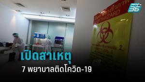 เปิดสาเหตุ 7 พยาบาล ติดโควิด-19 จากลูกบิดประตู ASQ