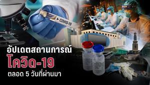 5 วัน  โควิด-19 ระลอกใหม่ในประเทศไทย เกิดอะไรขึ้นบ้าง