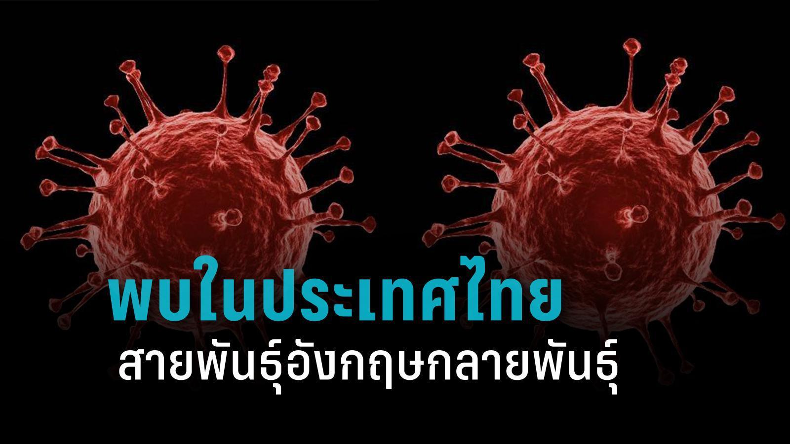 """""""หมอยง"""" เผย โควิด-19 สายพันธุ์อังกฤษกลายพันธุ์ พบในไทยแล้ว"""