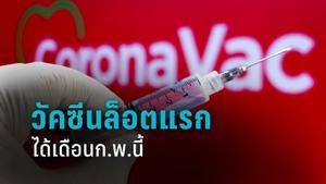 สธ.เผย วัคซีนโควิด 2 แสนโดสแรก ฉีดให้กลุ่มเสี่ยงพื้นที่ควบคุมสูงสุด