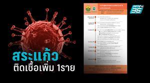 สระแก้ว พบผู้ติดเชื้อโควิด-19 เพิ่ม 1ราย ไทม์ไลน์สัมผัสผู้ป่วยรายที่ 7 ของลพบุรี