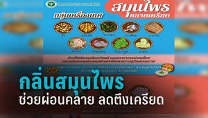 เมนูสุขภาพ แพทย์แผนไทยฯ ชี้ นำพืชสมุนไพร-ผักริมรั้ว ปรุงอาหาร ช่วยลดความเครียด