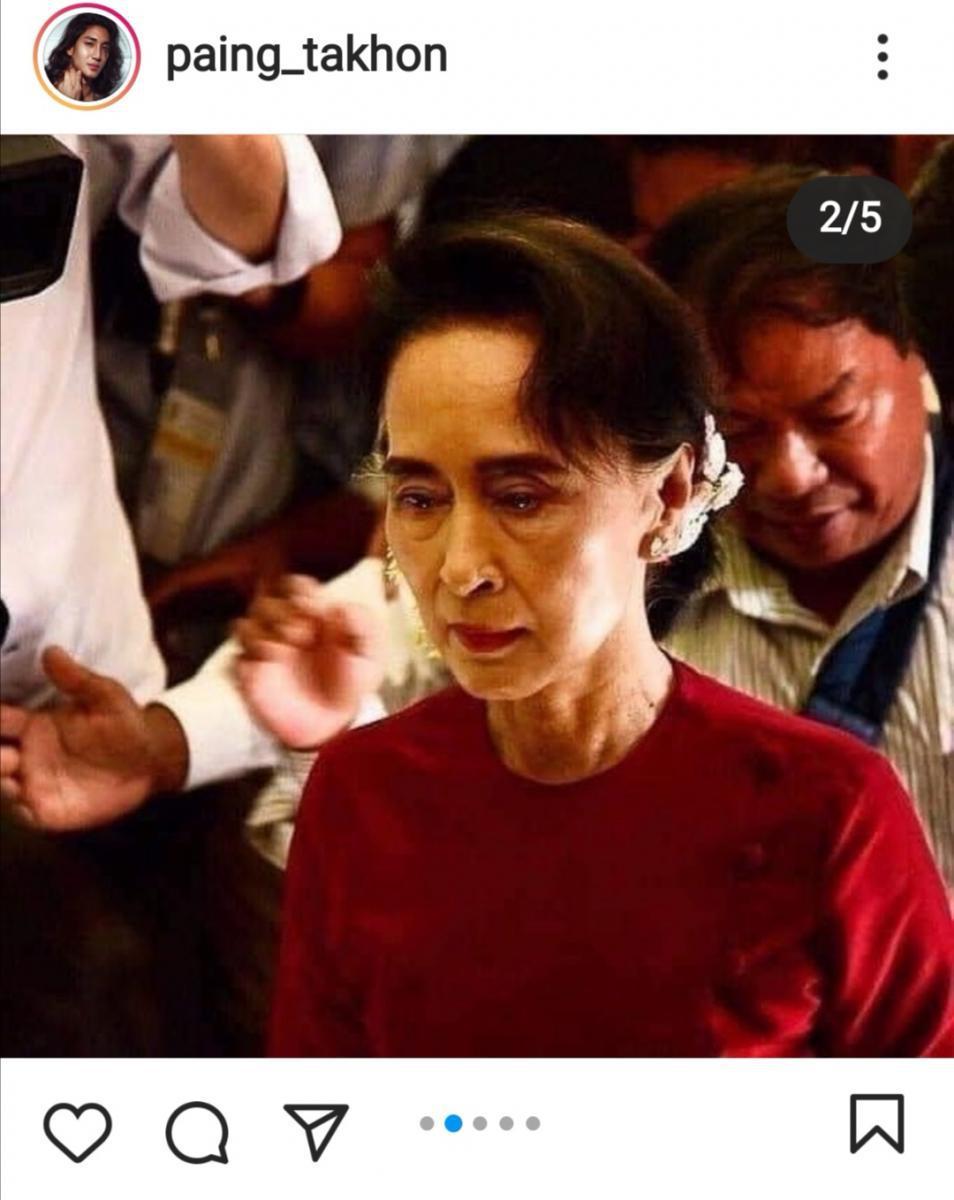 """นายแบบเมียนมา """"ไป่ ทาคน"""" โพสต์ถึงรัฐประหาร วอนโลก ช่วยเมียนมา ช่วย """"อองซาน ชูจี"""""""