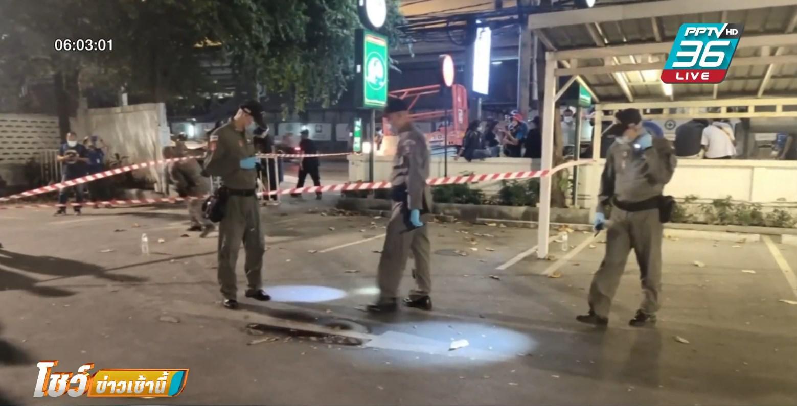 ระเบิดใต้สถานีรถไฟฟ้าเซนต์หลุยส์ ใกล้สถานทูตเมียนมา