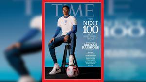 """""""แรชฟอร์ด"""" ติด100 บุคคลผู้มีอิทธิพลทางสังคม ของนิตยสาร ไทม์"""