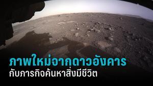 ภาพใหม่จากดาวอังคาร กับภารกิจตามหาสิ่งมีชีวิตบนดาวเคราะห์สีแดง