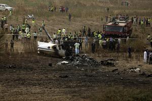 เครื่องบินเล็กตกในไนจีเรีย เสียชีวิต 7 คน