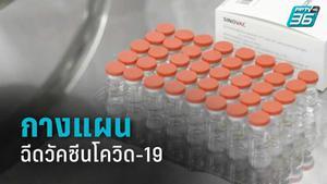 กางแผนฉีดวัคซีน ซิโนแวคฉีดวันธรรมดา แอสตราฯฉีดเสาร์-อาทิตย์
