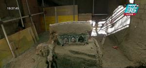 นักโบราณคดีขุดพบขบวนรถม้าใกล้เมืองปอมเปอี