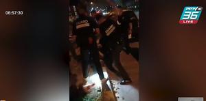 2 พี่น้องโดนกลุ่มการ์ดนับ 10 คน รุมจนสลบ