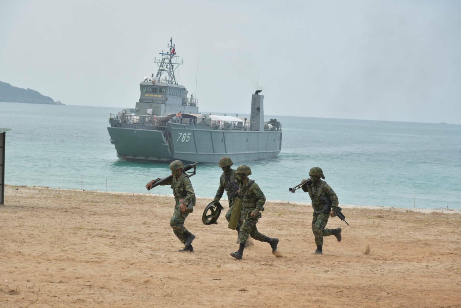 ผบ.ทร. เปิดการฝึกกองทัพเรือ 64 เตรียมความพร้อมกำลังรบทางเรือ