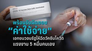 ขอรัฐไฟเขียวเอกชนฉีดวัคซีนโควิด-19 แรงงานกว่า 5 หมื่นคน
