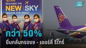 """พนักงาน """"การบินไทย"""" แห่ยื่นกลั่นกรองฯ - เออร์ลี่ รีไทร์  กว่า 16,000 คน"""
