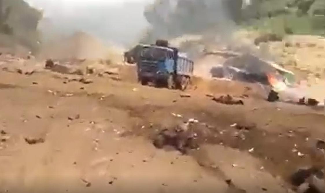 กองทัพเมียนมา ทิ้งระเบิด เหมืองทอง KNU ชาวบ้านเสียชีวิต 6 คน