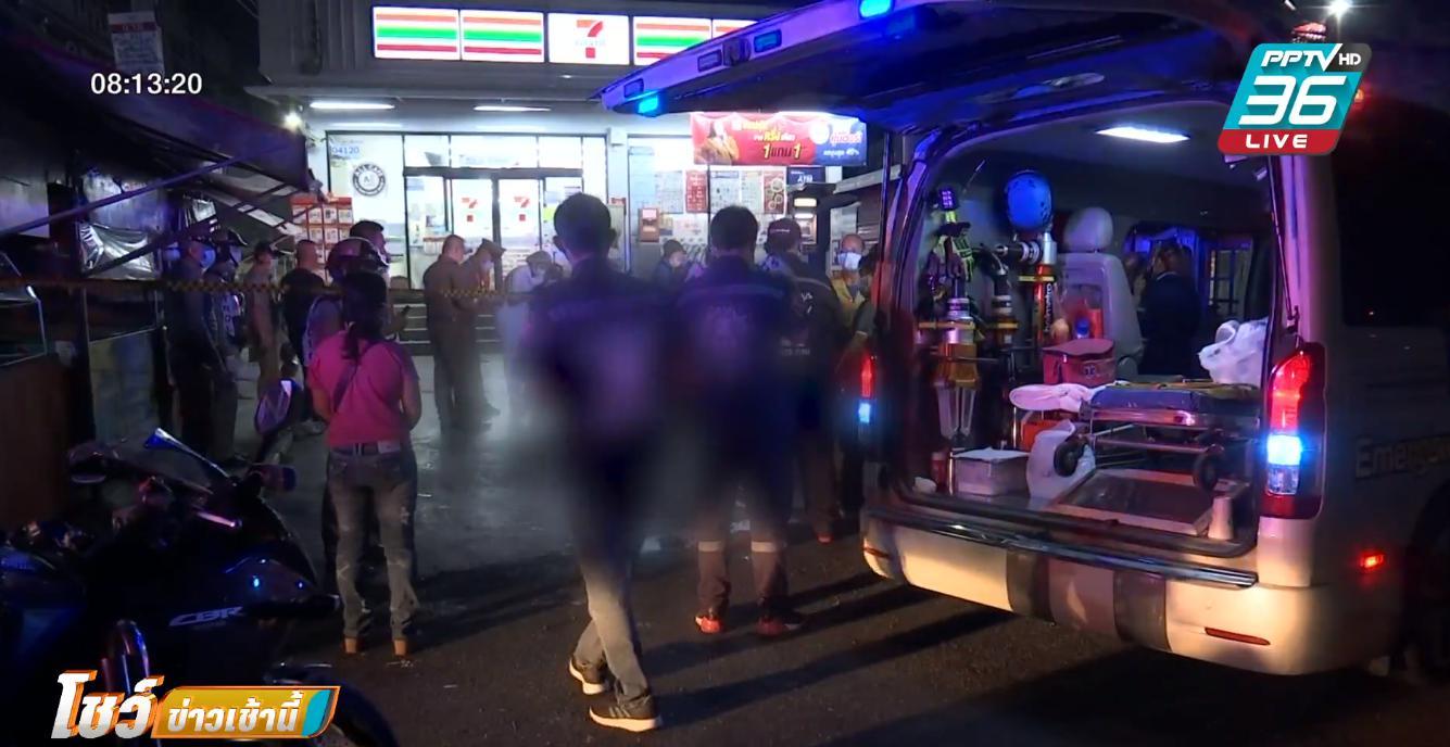 คนร้ายดักยิงคู่อริย่านปทุมธานี ตาย 2