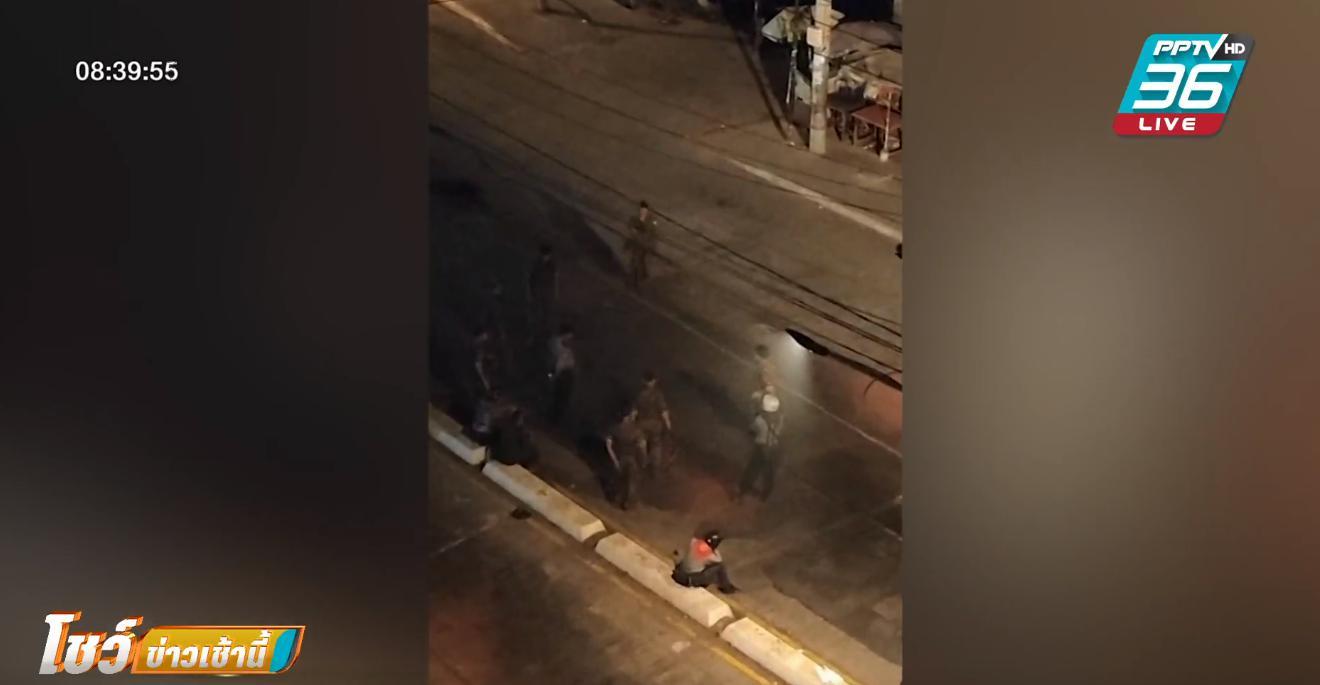 ทหารเมียนมาตบประชาชนกลางถนนในนครย่างกุ้ง