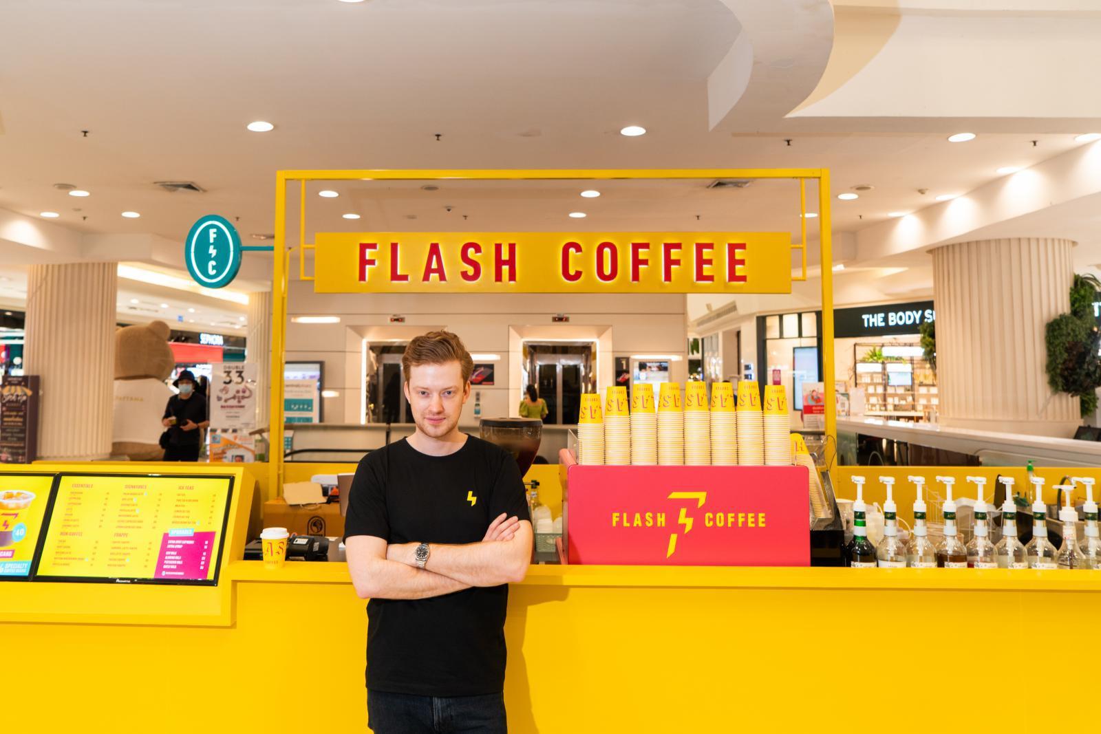 """""""แฟลช คอฟฟี่"""" เชนร้านกาแฟจากสิงคโปร์ได้เงินระดมทุนรอบซีรีส์ เอ 15 ล้านเหรียญ"""