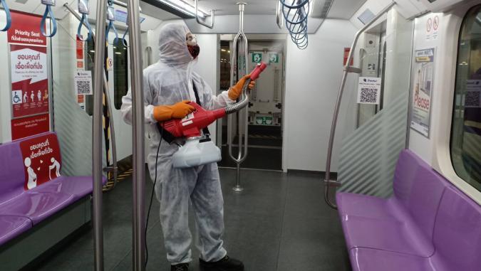 MRT แจ้งพนง.ทำความสะอาด สถานีท่าพระ ติดเชื้อโควิด-19