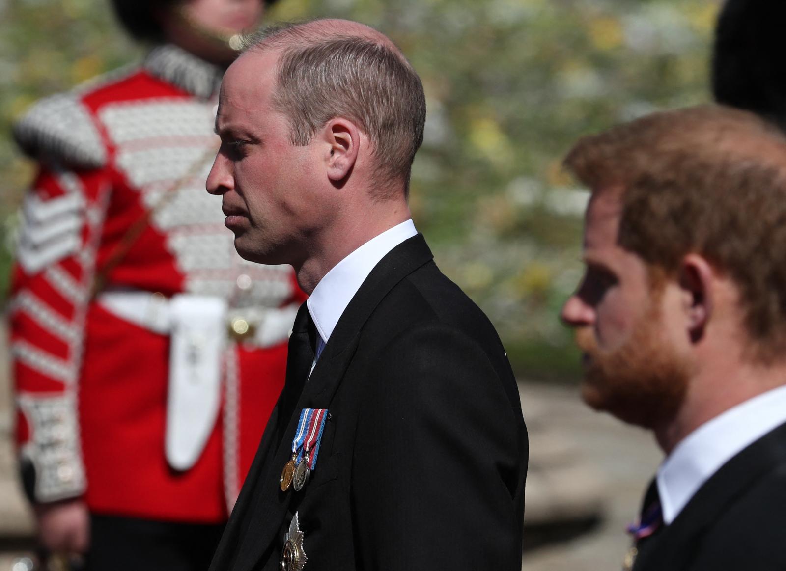 ราชวงศ์อังกฤษร่วมพิธีฝังพระศพเจ้าชายฟิลิป