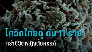 สุดเศร้า! โควิดไทยคร่าชีวิตหญิงตั้งครรภ์ วันนี้ดับ 11 คน อายุน้อย - อ้วน ติดเชื้อ 2,438 คน 507 อาการหนัก
