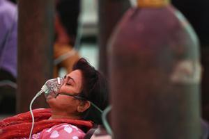 อินเดียทุบสถิติภายใน 24 ชั่วโมง พบผู้ติดเชื้อโควิดทะลุ 4 แสนคน
