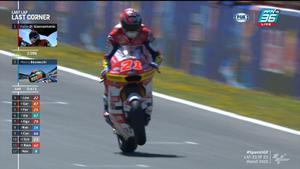 Fabio Di Giannantonio เข้าเส้นชัยที่ 1 คว้าเเชมป์ Moto2 สนามที่ 4