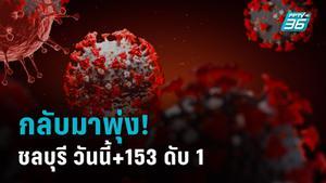 ชลบุรียอดโควิดพุ่ง วันนี้ 153 ราย ตายเพิ่มอีก 1 ขอไม่ตั้งวงกินร่วมกัน