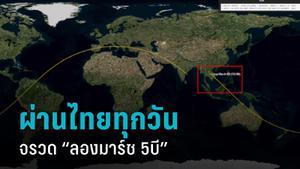 """""""จิสด้า"""" จับตา จรวด """"ลองมาร์ช 5บี"""" โหม่งโลก คาดตกวันที่ 9 พ.ค. เผยโคจรผ่านไทยทุกวัน"""