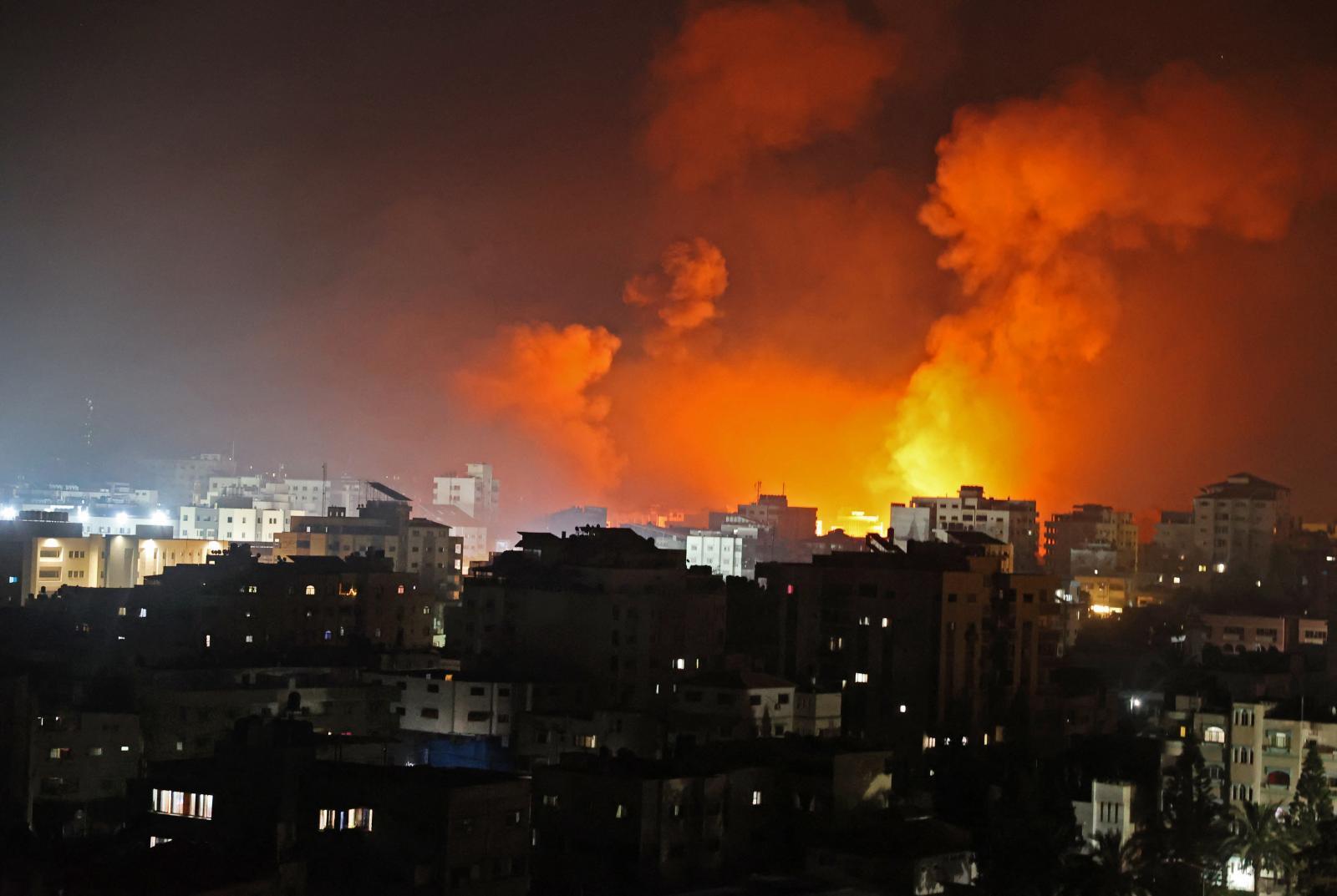 """""""ไบเดน"""" ต่อสายคุย ผู้นำอิสราเอล-ปาเลสไตน์ หลังสู้รบยืดเยื้อนาน 7 วัน"""