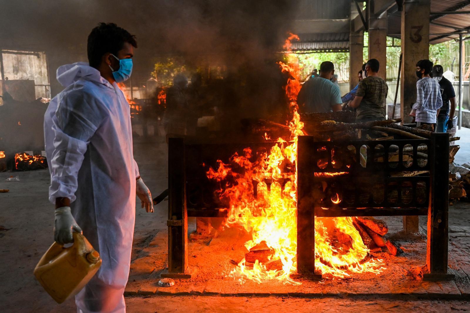 โควิด-19 อินเดีย คร่าชีวิตบุคลากรการแพทย์ทะลุ 1,000 คน
