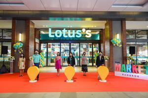 Lotus's สาขา The Market Bangkok เดินหน้าเปิดแล้ววันนี้