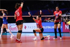 ตบสาวไทย ประเดิมแพ้ ญี่ปุ่น วอลเล่ย์บอลเนชั่นส์ ลีก 2021