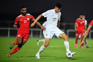 แข้งทีมชาติไทยอุ่นเครื่องแพ้โอมาน 0-1 ก่อนลุยคัดบอลโลก