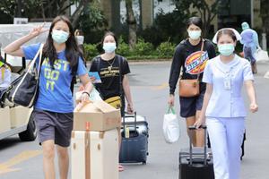 ตบสาวทีมชาติไทย หายป่วยโควิด กลับไปกักตัวต่อที่บ้าน