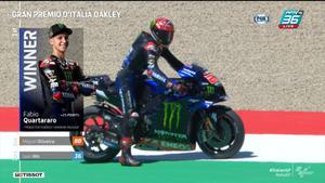 Fabio Quartararo เข้าเส้นชัยที่ 1 คว้าเเชมป์ MotoGP 2021 สนามที่ 6