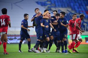 ไทย เสมอ อินโดนิเซีย 2-2  คัดบอลโลก ลุ้นเหนื่อยเกมที่เหลือ