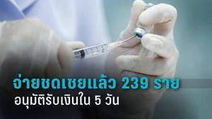 สปสช. ชี้ ฉีดวัคซีนแล้วมีอาการไม่พึงประสงค์ ขอรับเงินชดเชยได้เลย